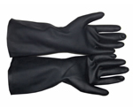 st02 ถุงมือนีโอพรีน ป้องกันสารเคมี ความเข้มข้นสูง